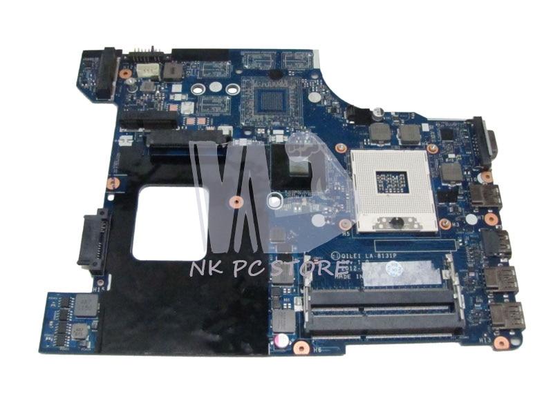 FRU:04Y1168 Main board For Lenovo thinkpad Edge E430 laptop motherboard QILE1 LA-8131P HD4000 graphics 14 DDR3