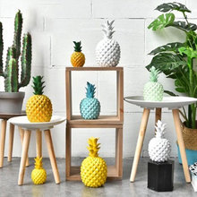 Nordic modern minimalist creative pineapple decor living room dining home decoration ornaments props