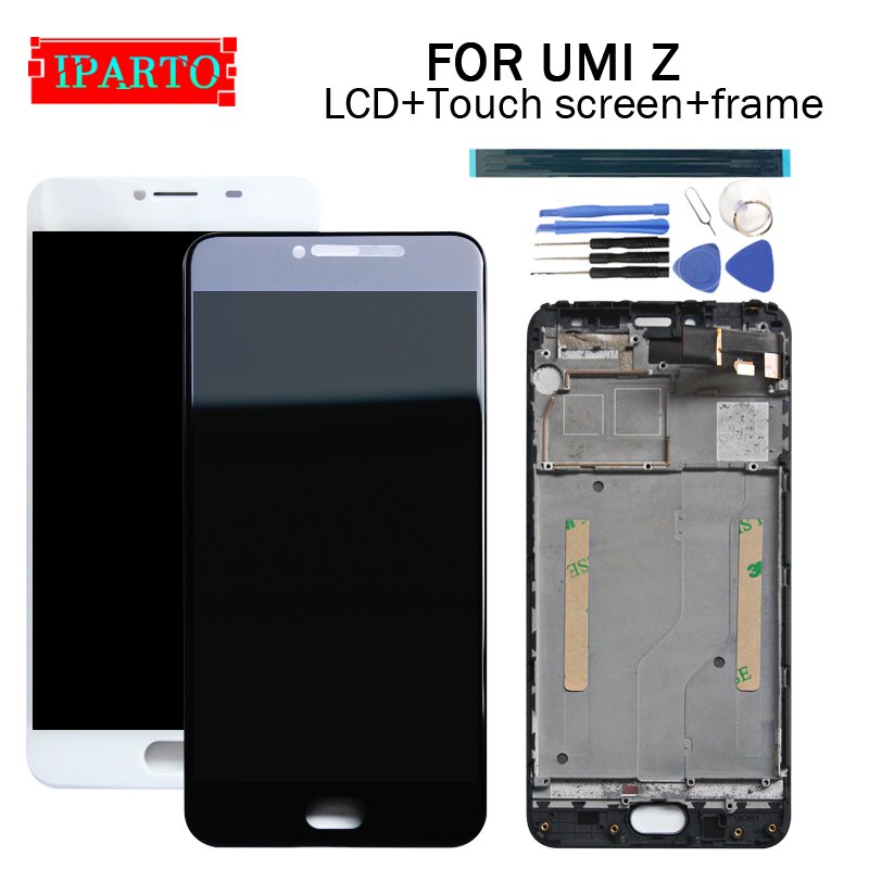 5 5 inch UMI Z LCD Display Touch Screen Digitizer Frame Assembly 100 Original New LCD