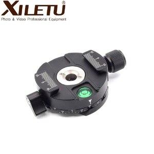 Image 4 - XILETU XPC 60C 360 درجة بانورامية المشبك سبائك الألومنيوم محول الإفراج السريع لوحة ترايبود DSLR التصوير الملحقات