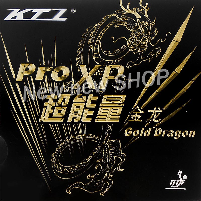 KTL Pro XP Gold Dragon Pips In Table Tennis Rubber For Ping Pong Racket