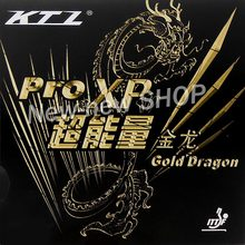 KTL Pro XP Gold Dragon Pips In Table Tennis Rubber for Ping Pong Racket(China)