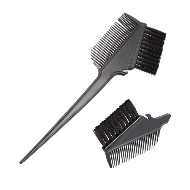Hair Dye Coloring Brush Highlighting Tint Brush Hair Section Comb ...
