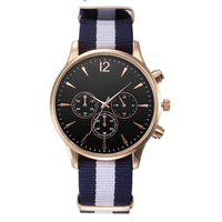 Splendid Luxury Fashion Band Canvas Mens Analog Wrist Watches Men Masculino Reloje 1