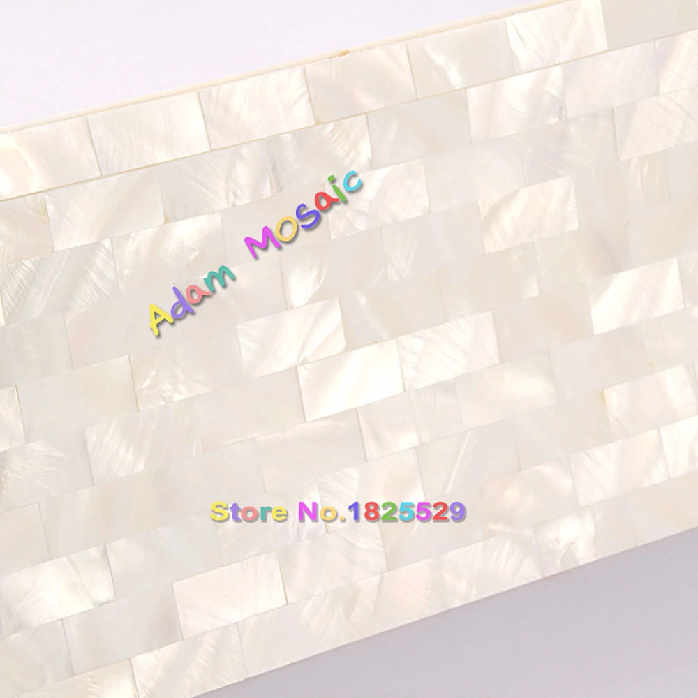 Perlmutt Mosaik Fliesen Innenwandpaneele Küche Backsplash Weiß Fliesen  Badezimmer U Bahn Kamin Wand