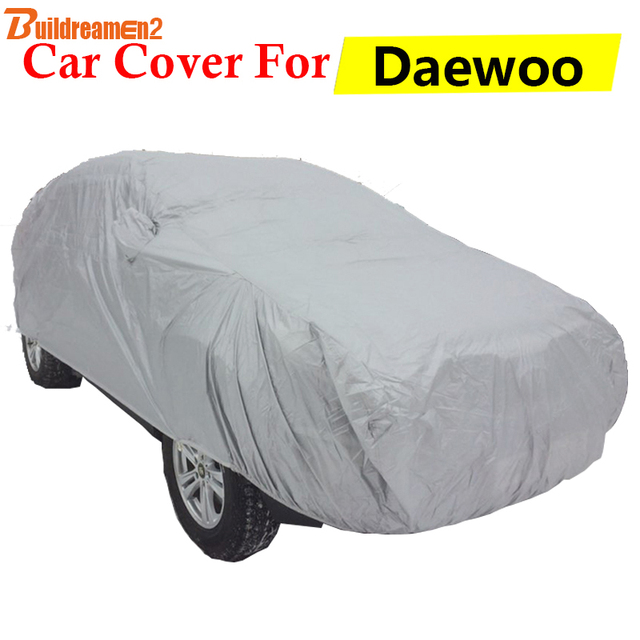 Buildreamen2 Car Cover For Daewoo Leganza Espero Kalos Lacetti Lanos Sun  Shade Snow Rain Scratch Dust 6df36036d8c