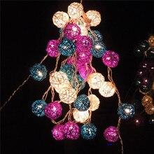Kunming Ben kommerziellen farbe chinlon 35 erste 6 cm Weihnachten dekoration lichter led twinkle licht lila garten