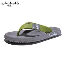 купить Brand Men flip flops Summer Beach Sandals Slippers for Men Flats High Top Non-slip Shoes Men Plus Size 45 Sandals Pantufa по цене 759.62 рублей