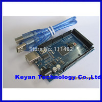 Free Shiping Mega 2560 R3 CH340G Mega2560 REV3 ATmega2560 16AU Board USB Cable