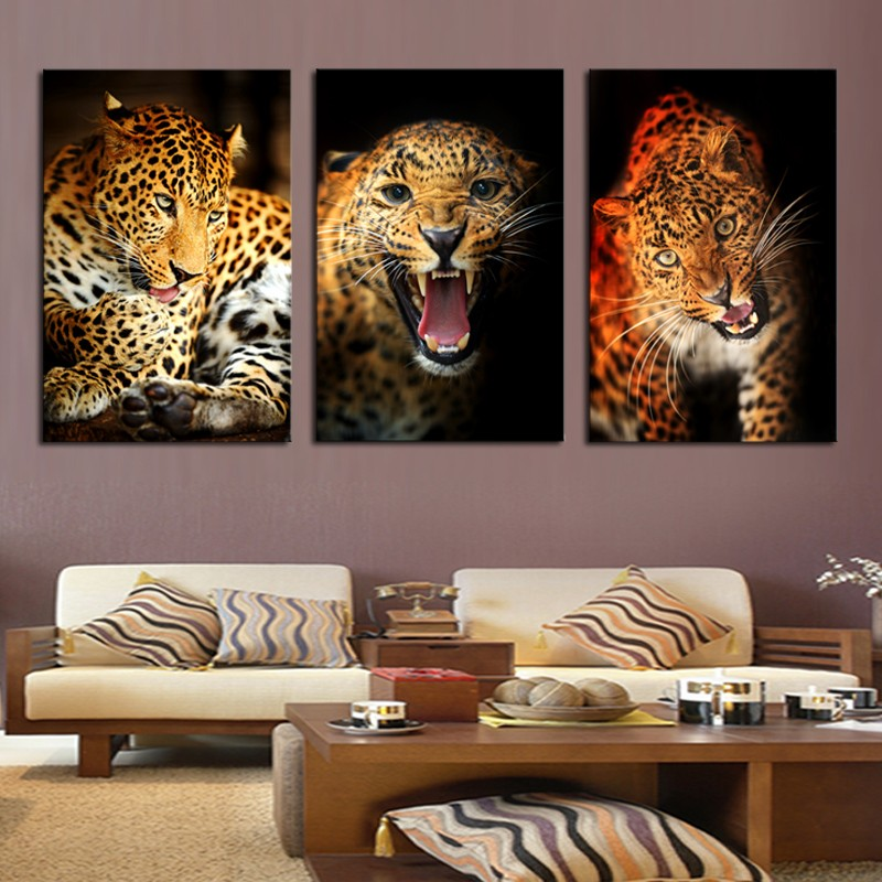 Aliexpress.com : Buy 3Piece Animal Yellow Leopard Cheetah