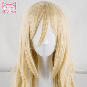 Image 3 - 【AniHut】Rachel Gardner Wig Angels of Death Cosplay Wig  Synthetic Blonde Hair Ray Cosplay