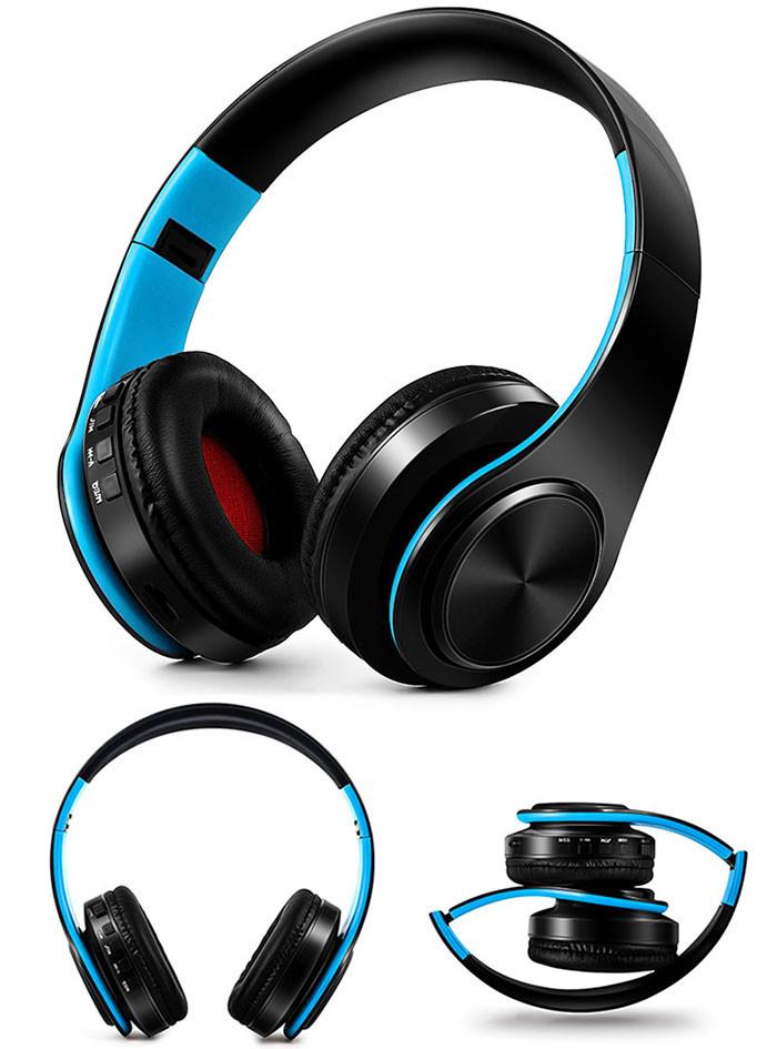 Słuchawki Bluetooth Headset słuchawki Bezprzewodowe Słuchawki Stereo Składany Sport Słuchawki Mikrofon słuchawki Tryb Głośnomówiący odtwarzacz MP3 16