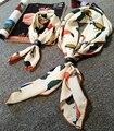 Семья Шарф Мама и Ребенок Атласа Квадратный Шарф Высокого Качества Имитационные Шелковый Атлас Шали Шарфов Хиджаб Мода Стиль Два Размера