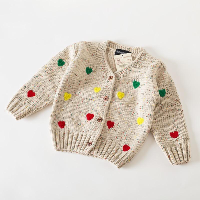 c69da21f8fa7 Baby Girl Sweater For Autumn Winter Clothes Children Girls Kids Love ...