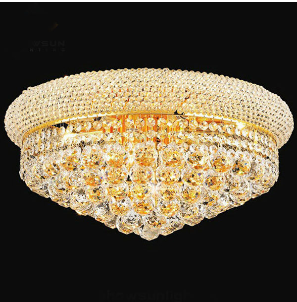 Flush Crystal Ceiling Light: Crystal Ceiling Light Fixture Gold Ceiling Light Lighting Lamp Flush Mount  Guaranteed 100%+Free,Lighting