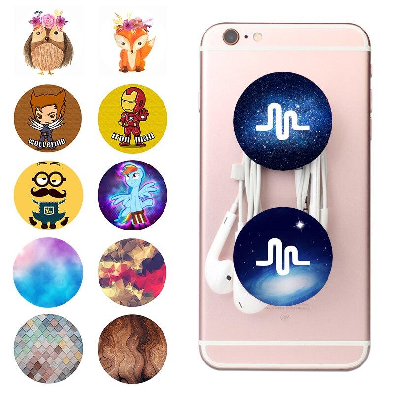 Popsoket Mobile Phone Musical Holder Lazy Pops Finger попсокет Ring Bracket Smartphones And Tablets Pocket Socket Stand Popsocet