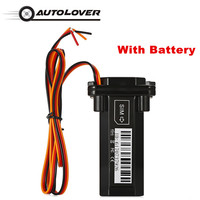 Mini Car Styling Waterproof Builtin Battery GSM GPS Tracker Locator For Motorcycle Vehicle Tracking Device Rastreador