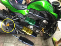The new 2015 Kawasaki Z800 2013 2014 2015 Protection of popular brands of plastic exhaust pipe ball drop resistance