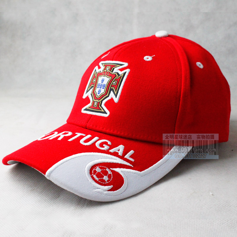 football team embroidery sun hat baseball cap red white national caps for small dogs wholesale usa with on them