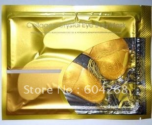 Crystal Collagen Gold Powder Eye Mask Crystal Eye Mask Top Quality 100PRS/Lot Free Shipping