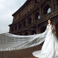 3 Meters Fashion Applqies wedding veils lace Edge bride ivory Long Veil wedding birdcage veil and tiaras acessorios