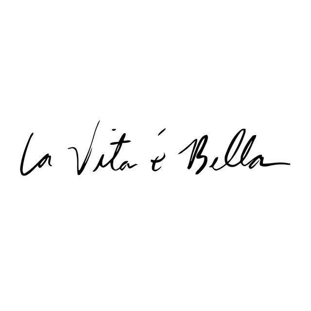 La Vita e Bella Reflective Vinyl Decal 2