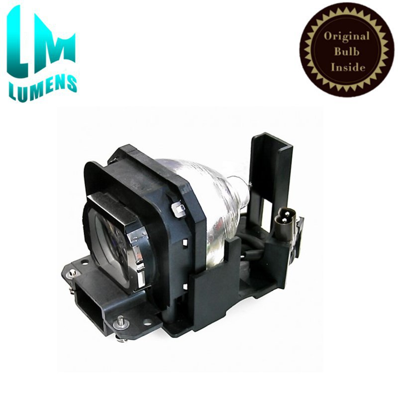 Original projector lamp ET-LAX100 bulb with housing for PANASONIC PT-AX100 AX100E PT-AX100U PT-AX200 PT-AX20 High brightness high quality et lal320 projector bulb with original lamp for panasonic pt lx270u pt lx300 pt lx300u projector
