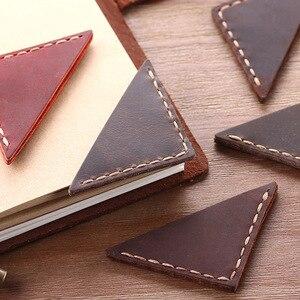 2 упаковки винтажные закладки для книг, маркер из натуральной кожи, Канцтовары для записей ручной работы, подарок, школьные принадлежности