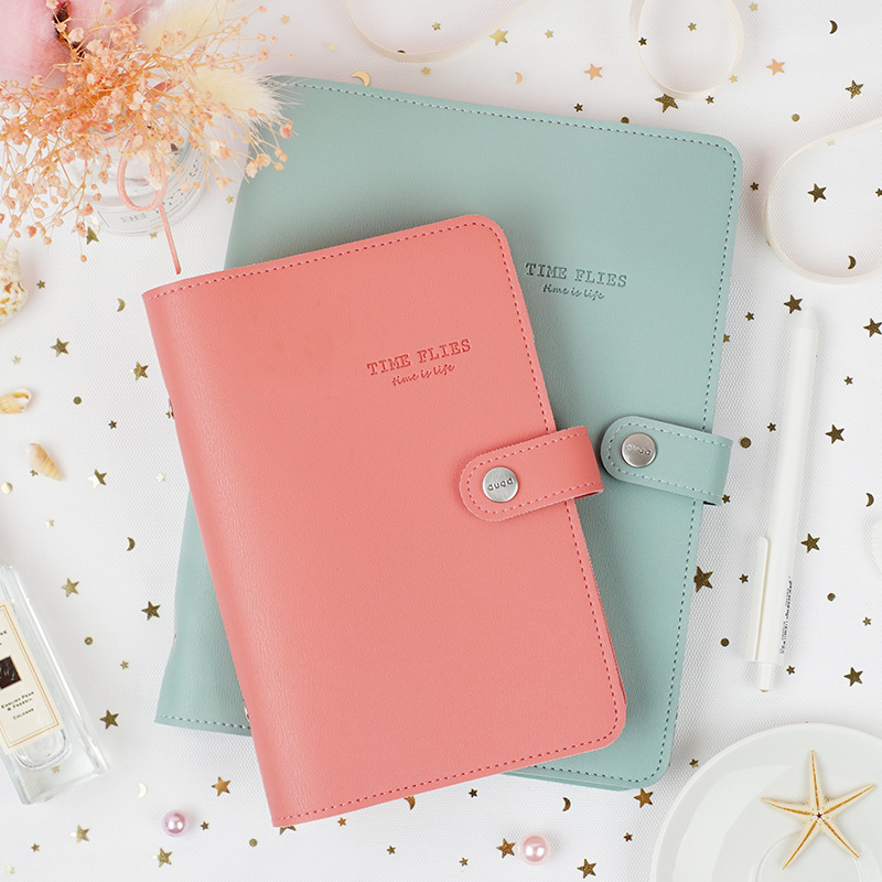 Macaron Cute <font><b>Spiral</b></font> <font><b>Notebooks</b></font> Stationery Fine Office School <font><b>Personal</b></font> Agenda Organizer Binder Diary Weekly Planner Gift A5 A6 A7 image
