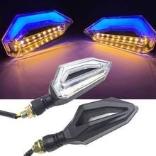 LED Motorcycle Turn Signal Lights 12V Indicator Moto Clignotant Blinker DRL Lamp FOR YAMAHA XJR 1300 FZ1 FZ6 FZ8 MT 07 03 MT 09