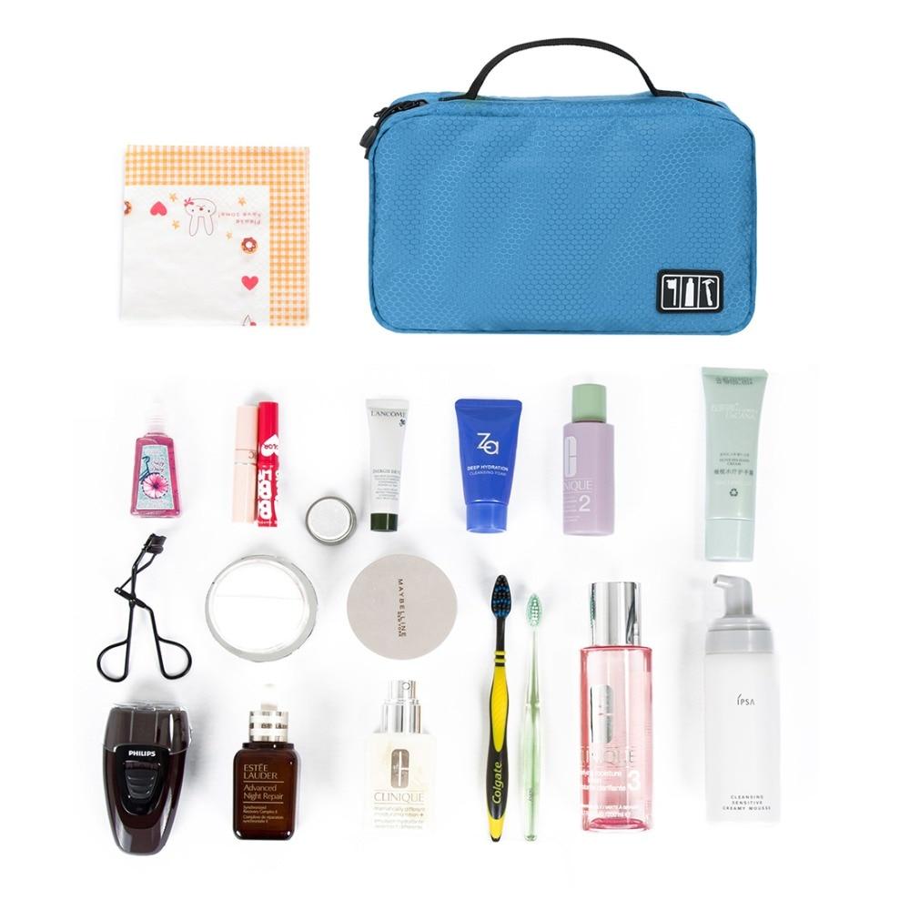 BAGSMART resepaketväskor Hand Portable Nylon Toalettsaker Väska - Väskor för bagage och resor - Foto 5