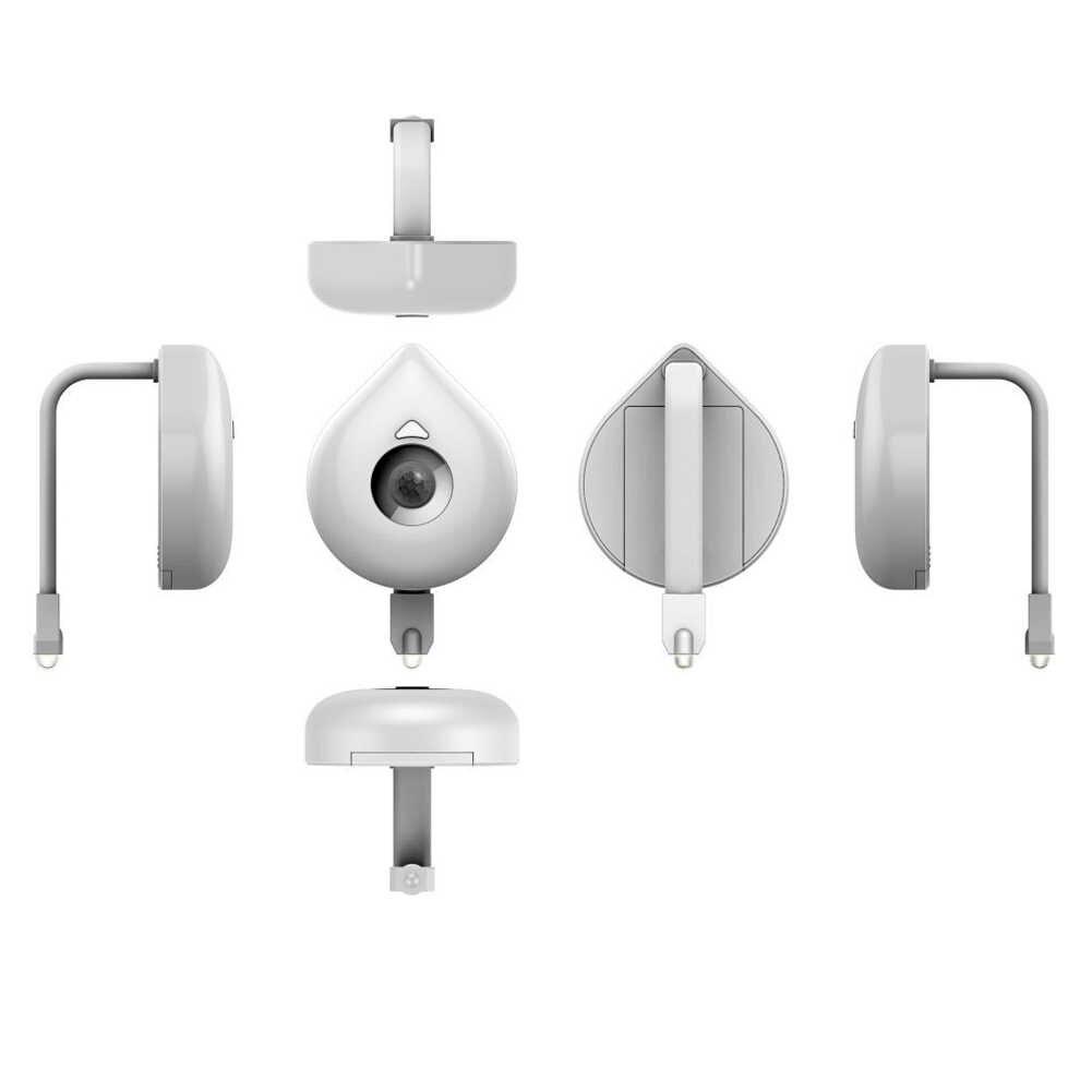 1 шт. Смарт ванная комната туалет Ночной светильник светодиодный датчик движения тела автоматический туалет Подвесной Туалет Ночной светильник лампа