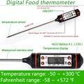 Электронный Цифровой Термометр инструменты ареометр Мясо Пищевой Зонд Кухня Приготовления метеостанции датчик температуры