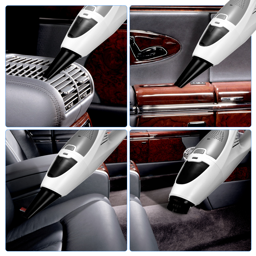 Hand-held Mini Cordless Car Vacuum Cleaner Strong Suction Dust Vacuum Cleaner for Home and Car Cleaning Auto Tools Accessories