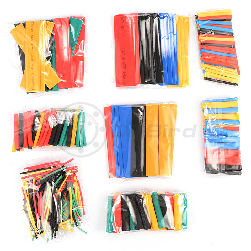 Image 5 - 328Pcs/Lot Polyolefin Assorted Heat Shrink Tubing Insulation Shrinkable Tube Wrap Wire Cable Multicolor Tools-in Tool Parts from Tools