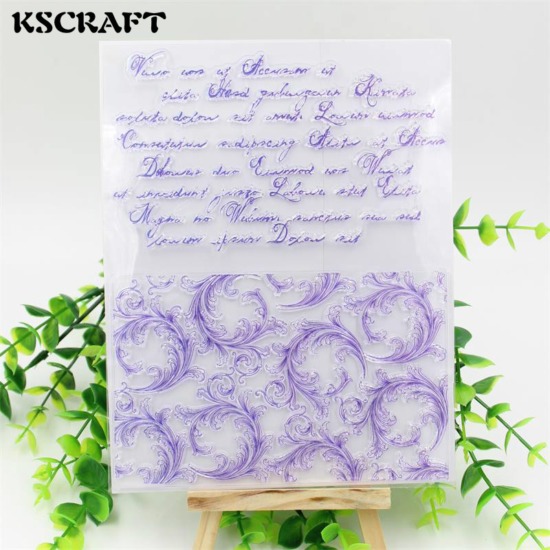KSCRAFT Flourish Corners Transparent Clear Silicone Stamp/Seal for DIY scrapbooking/photo album Decorative clear stamp sheets kscraft love travelling transparent clear silicone stamp seal for diy scrapbooking photo album decorative clear stamp sheets