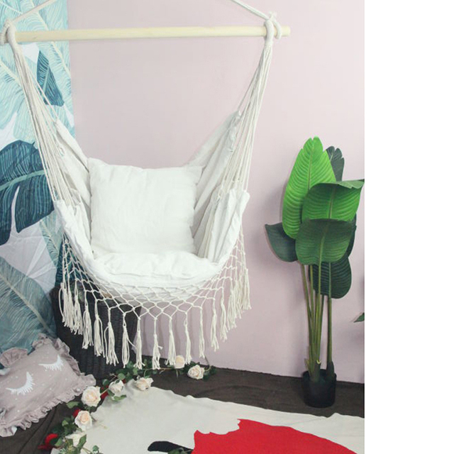 Hammock Chair with Cushions
