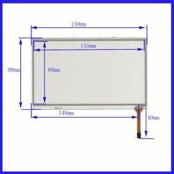 XWT336 6.2 linhas de 4 polegadas Para DVD Do Carro da tela de toque do painel de 159mm * 99mm este é compatível com 159*99 TouchSensor FreeShipping