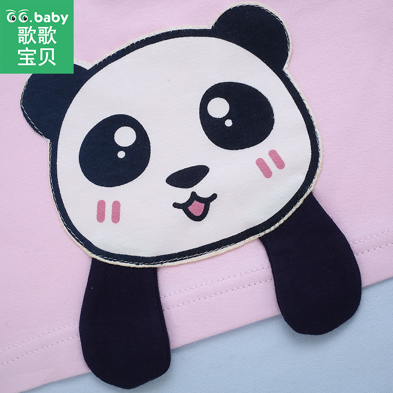 b43c8d873c81 Newborn Panda Baby Girl Rompers Infant Romper Baby Clothes For Girls  Toddler Jumpsuit Baby Long Sleeve Romper Overalls Pajamas-in Rompers from  Mother   Kids ...