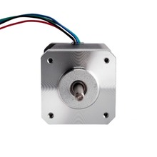 4-lead Nema 17 stepper motor 42BYGHM809 4200g-cm(59oz-in)  1.68A CE ROHS ISO