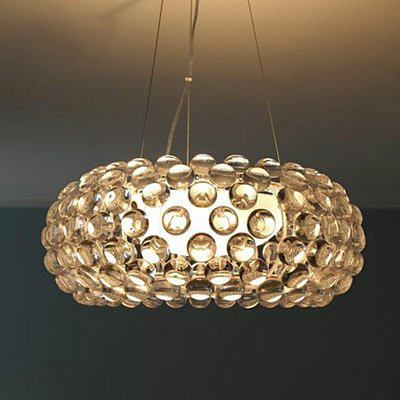 Modern Suspension Caboche Pendant Lamp Sweat Ion Italian Lighting - Italian light fixtures