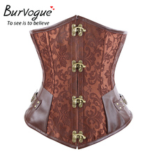 Brown Bone Steampunk Bustiers
