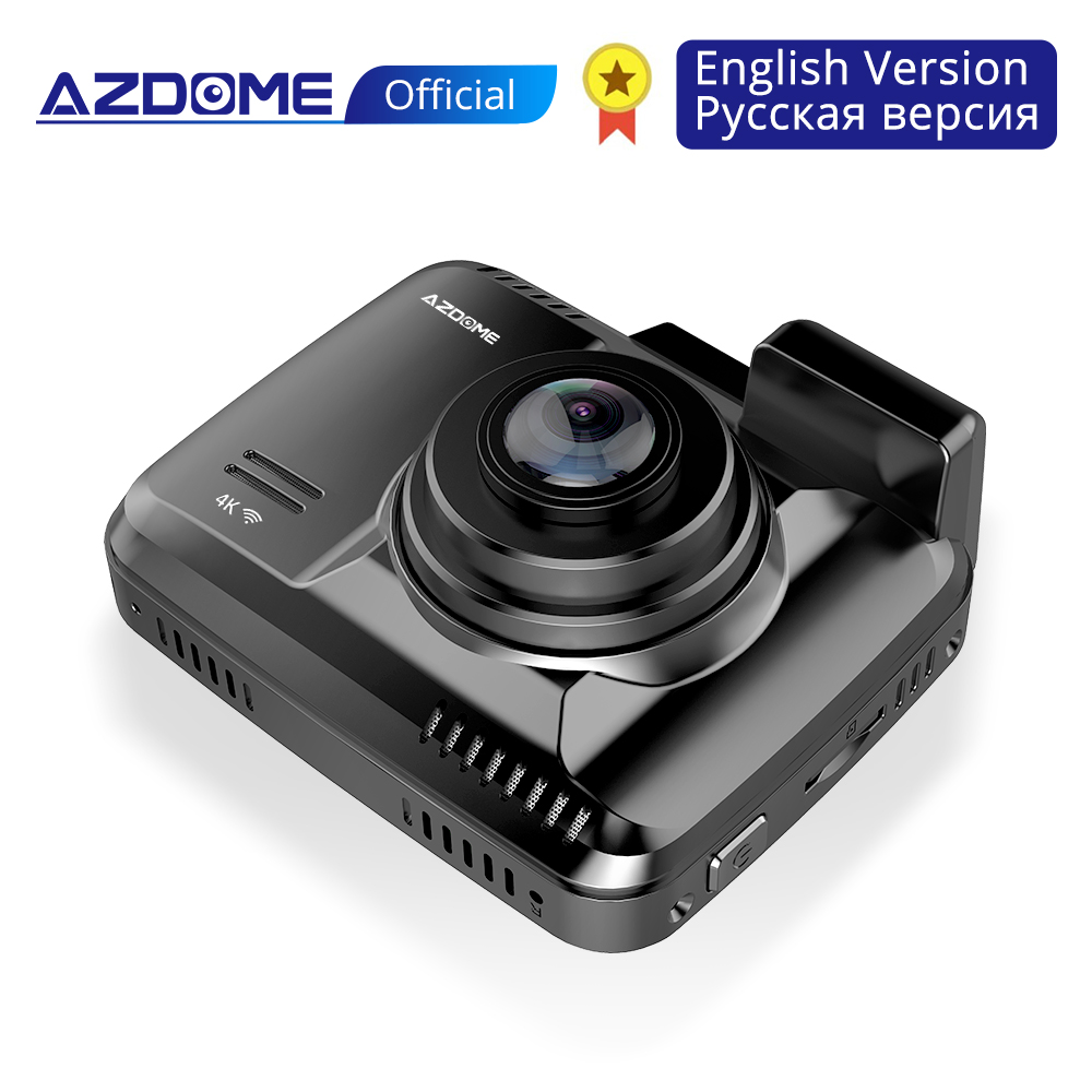 AZDOME GS63H Built in GPS WiFi Dual Lens FHD 1080P Front VGA Rear Camera Car DVR