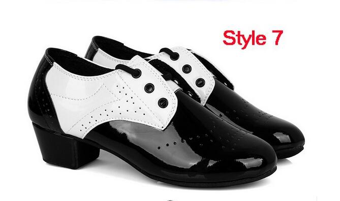 New Arrival Ballroom Dance Latin Boy Dance Shoes Zapatos Baile Salsa Tango Hombre Latin Dancing Shoes