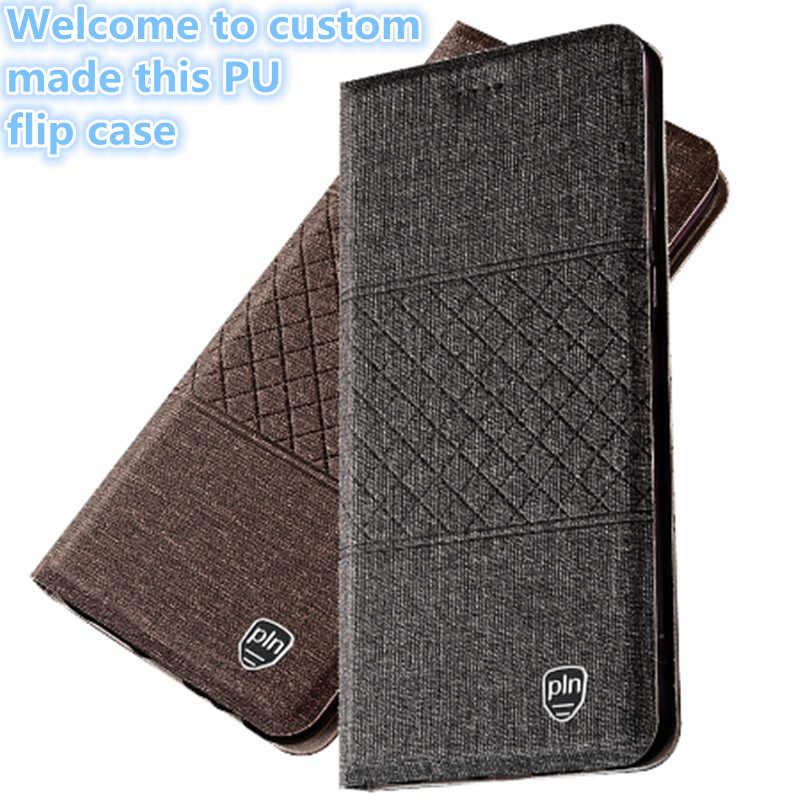 TZ11 pu レザー電話バッグのためにふたを磁石 Xiaomi Mi8 Lite (6.26 ') 電話ケース xiaomi Mi8 Lite ケース送料無料