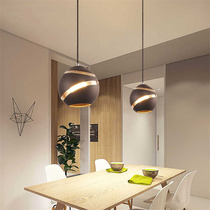 Black-2pack ASCELINA Pendant Light,Nodic Style,Painted Hanging Ceiling Lamp,Modern Restaurant Pendant Lamp,Decoration for Bedroom Living Room Dinning Romm