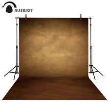 Allenjoy צילום תפאורות ישן מאסטר סגנון בציר מוצק צבע רקע תמונה סטודיו דיוקן שיחת וידאו לירות אבזרי