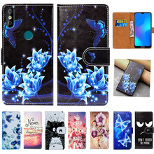 For Doogee Y8 Case High Quality 6.1 Pu Leather Print Flip Wallet Cover Book