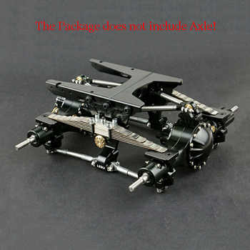Metal Rear Dual Suspension Set ONLY for LESU 1/14 Tmy   RC Axle Truck DIY Model TH02083 - DISCOUNT ITEM  0% OFF All Category