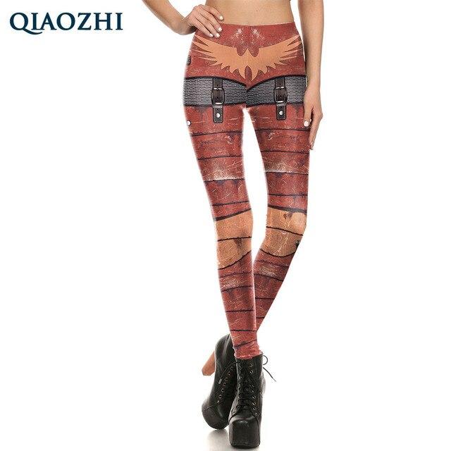 QIAOZHI Nueva Moda leggings de cota de malla de Armadura de METAL ...